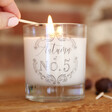 Lisa Angel Personalised Vintage Autumn Scented Candle