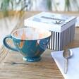 Lisa Angel Ladies' House of Disaster Heritage & Harlequin Tiger Cup in Teal Packaging