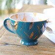 Teen's House of Disaster Heritage & Harlequin Tiger Cup in Teal