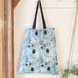 Lisa Angel House of Disaster Recycled Moomin Family Shopper Tote
