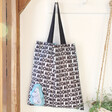 Lisa Angel Ladies' House of Disaster Recycled Moomin Family Shopper Tote
