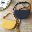 Lisa Angel Ladies' Yellow and Black Half Moon Crossbody Bags