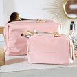 Lisa Angel with Estella Bartlett 'Kiss and Make Up' Wash Bags