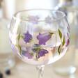 Bluebell Flower Balloon Gin Goblet