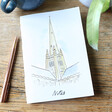 Lisa Angel Owen Mathers Illustrated Norwich Cathedral Notebook