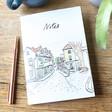 Lisa Angel Owen Mathers Illustrated Norwich Lanes Notebook