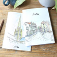 Lisa Angel Colourful Owen Mathers Illustrated Norwich Notebooks