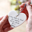 Lisa Angel 'A Nana Holds Our Hand...' Hanging Heart Decoration