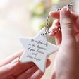 Lisa Angel 'Go Confidently' Hanging Ceramic Star Decoration