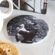 Unisex Personalised 'Your Photo' Organic Shape Coaster