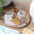 Lisa Angel Ladies' Personalised 'Your Photo' Organic Shape Coaster
