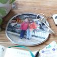 Unisex Personalised 'Your Photo' Organic Shape Trinket Dish