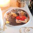 Personalised 'Your Photo' Organic Shape Trinket Dish Gift