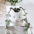 Lisa Angle Mini Ceramic Cat Planter