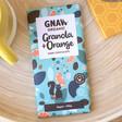 Lisa Angel Gnaw Granola and Orange Dark Chocolate Bar