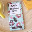 Lisa Angel Gnaw Raspberry Crisp Dark Chocolate Bar