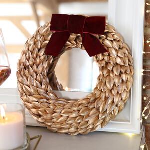 Gold Laurel Leaf Wreath