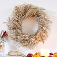 Lisa Angel Natural Moss and Grass Hanging Wreath