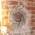 Lisa Angel Personalised Natural Moss and Grass Wreath