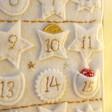 Lisa Angel Fabric Felt House Wall Hanging Advent Calendar