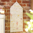 Lisa Angel Soft Personalised Felt House Wall Hanging Advent Calendar