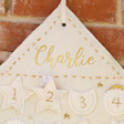 Lisa Angel Personalised Fabric Felt House Wall Hanging Advent Calendar