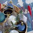 Festive Secret Opening Bauble in Blue