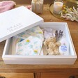 Lisa Angel Spacious Personalised 'Baby Girl' Large White Wooden Box