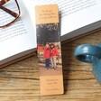 Lisa Angel Printed Personalised Photo 'Anniversary' Leather Bookmark