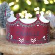 Lisa Angel Handmade Set of Three Personalised Paper Christmas Folklore Crowns