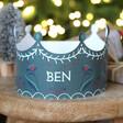 Lisa Angel Dark Green Set of Three Personalised Paper Christmas Folklore Crowns
