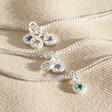 Lisa Angel Ladies' Personalised Sterling Silver Family Birthstone Charm Bracelet