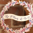 Lisa Angel Personalised Autumnal Printed Wooden Christmas Wreath
