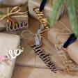 Lisa Angel Personalised Set of 3 Acrylic Name Gift Tags