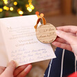 Lisa Angel Personalised Wooden 'Your Handwriting' Hanging Decoration