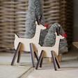 Lisa Angel Personalised Wooden Reindeer Decoration
