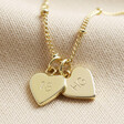 Lisa Angel Gold Personalised 18th Birthday Charm Necklace