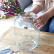 Lisa Angel Rounded Large Curved Glass Vase