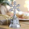 Lisa Angel Festive Silver Personalised Christmas Bell