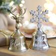 Lisa Angel Festive Personalised Christmas Bell