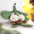 Lisa Angel with Jellycat Amuseable Mistletoe Soft Toy