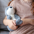 Children's Jellycat Bashful Seal Soft Toy with Model