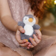 Jellycat Diddle Penguin Soft Toy with Model