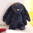 Lisa Angel with Jellycat Small Bashful Stardust Bunny Soft Toy