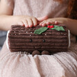 Jellycat Yule Log Soft Toy with Model