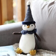 Lisa Angel Jellycat Yule Penguin Soft Toy