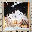 Lisa Angel Personalised Wooden Winter Scene Advent Calendar