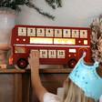 Lisa Angel Reusable Vintage Style LED Bus Advent Calendar
