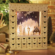 Lisa Angel Wooden Winter Scene Advent Calendar