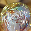 Lisa Angel Special Personalised Iridescent LED Hanging Balloon Light